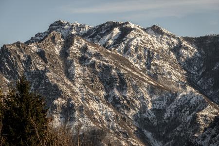 talian: a nice view of talian alps, Seriana Valley.(desaturate)