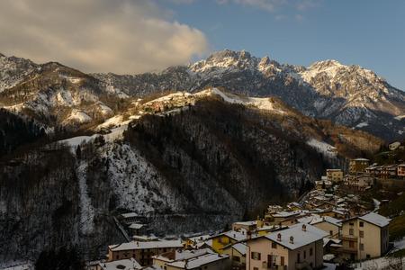 talian: a nice view of talian alps, Seriana Valley.