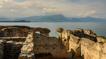 1st century: Caves of Catullus,the Roman villa knows as Villa Catulliana or Grotte di Catullus,the 1st century BC.