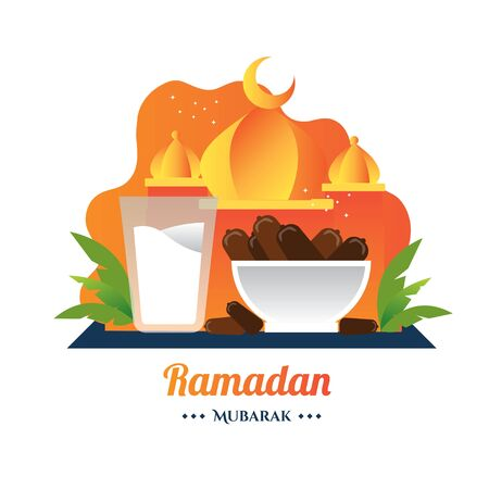 Ramadan iftar break fasting