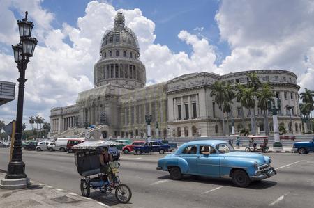 havana cuba: The Capitolio in Havana, Cuba