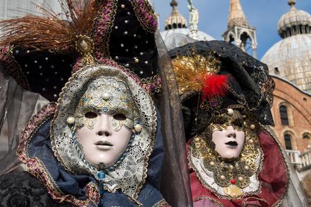 Máscaras de Carnaval de Venecia  Foto de archivo - 67298672