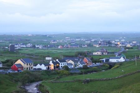 Doolin village in county Clare, Ireland
