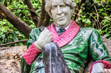 Oscar Wild in Merrion Square, Dublin Stock Photo