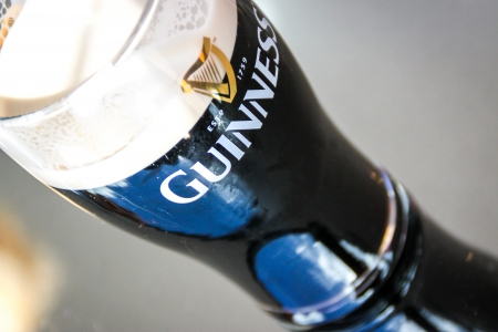 guinness beer: A pint of Guinness Editorial