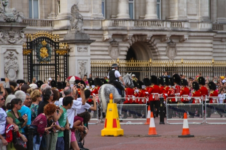 London, United Kingdom - July 28, 2013  People are taking photographies at Queen