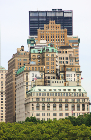 View on some Manhattan buildings