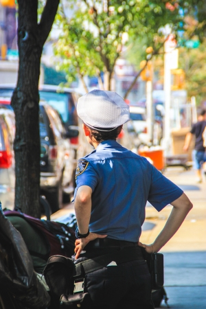 NYPD Traffic Officer