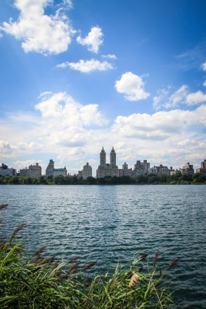 Jacqueline Kennedy Onassis Reservoir in Central Park, New York
