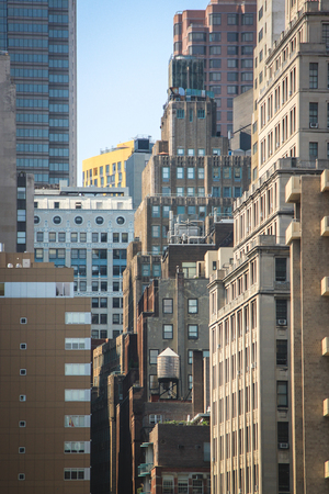 View on some of Manhattan buildings