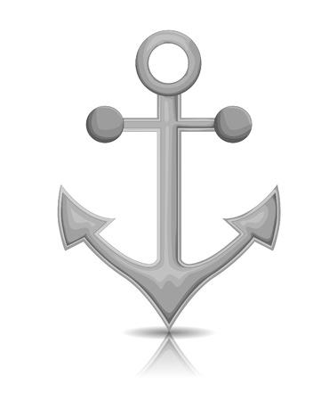 Anchor Stock Vector - 18929781