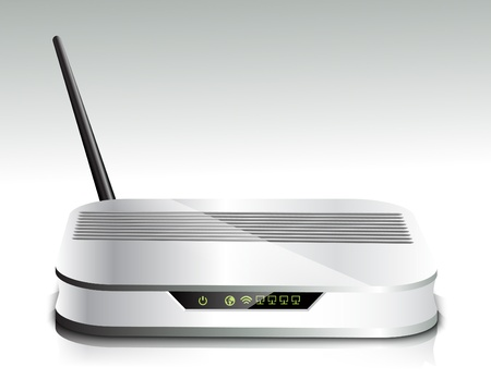 ethernet: Wireless router