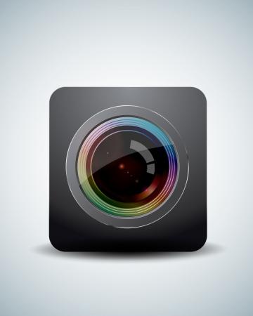 Camera lens Stock Vector - 20237079