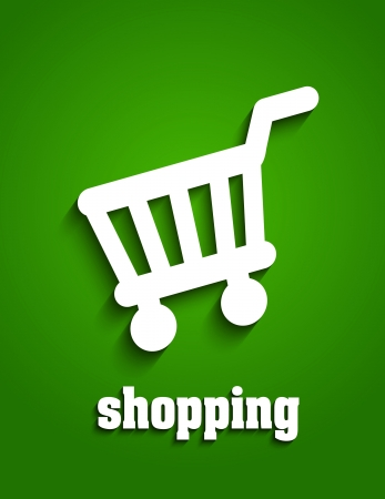 Shopping cart Stock Vector - 20237193