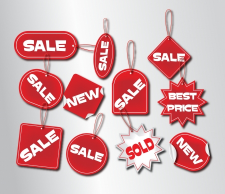 sale tags Stock Vector - 20237083