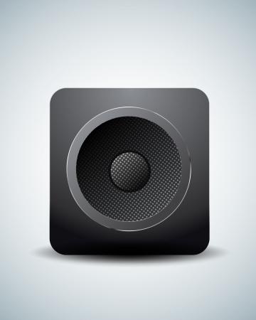Speaker icon Stock Vector - 20237121