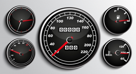kph: Tachometers