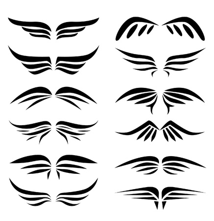 tatouage ange: collection Wings