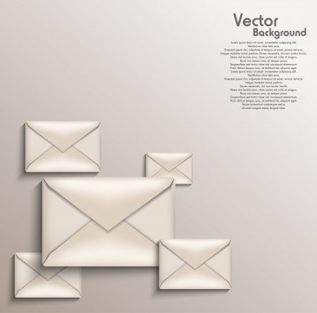 Envelope background Stock Vector - 20259199