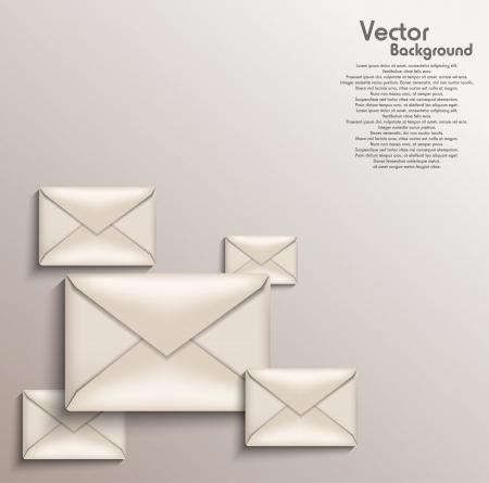 Envelope background Stock Vector - 20259199