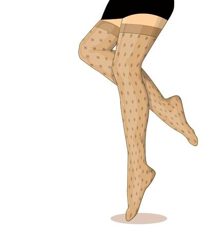 legs stockings: Le donne calza