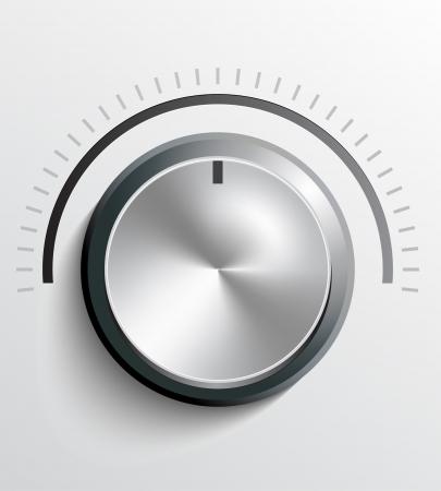 maximum: Volume knob