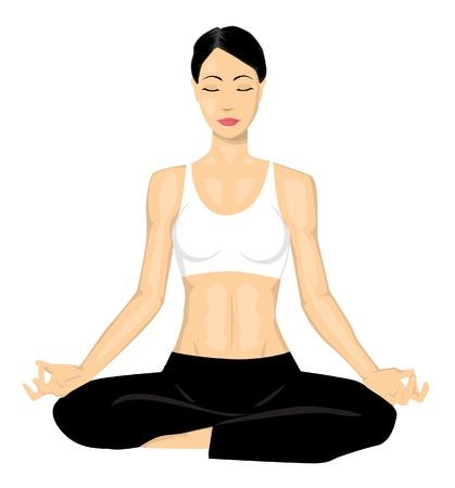 poses: Yoga girl