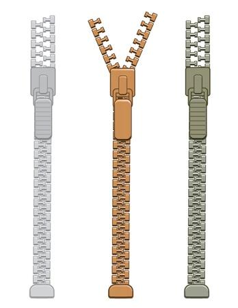 Zipper Stock Vector - 20259176