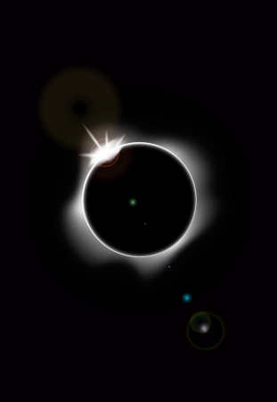 Solar eclipse Stock Vector - 20259175