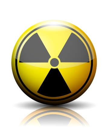 Nuclear icon Stock Vector - 20259217