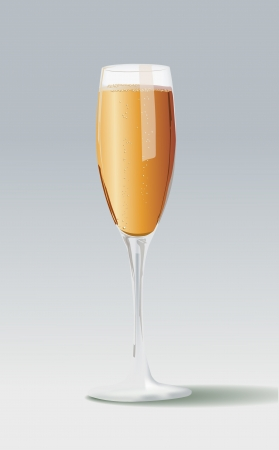 champagne glasses: Champagne glasses Illustration