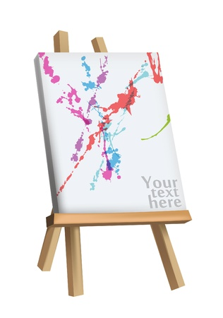 Easel Stock Vector - 20259215