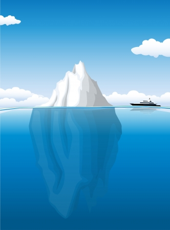 Iceberg Stock Vector - 20259173