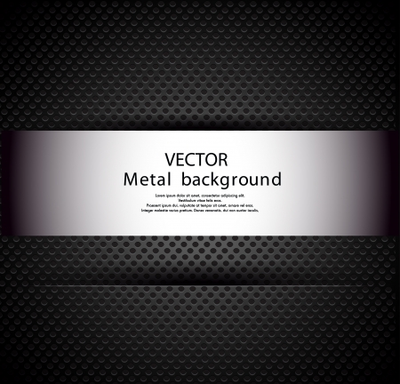 Metal background Stock Vector - 20259279