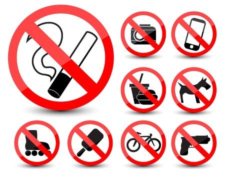tech no: Prohibited symbols