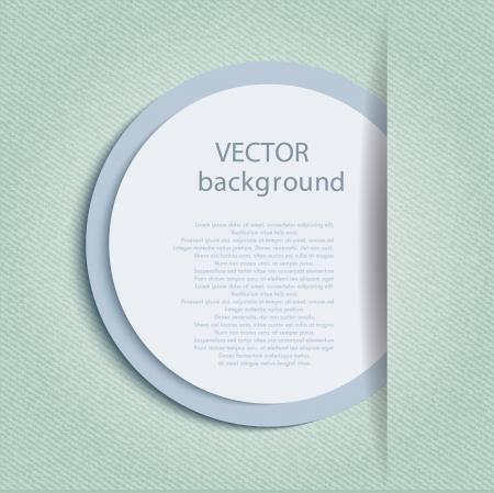 leaflet design: Design template