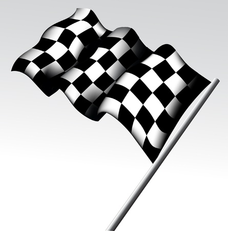 checker flag: Checkered Flag