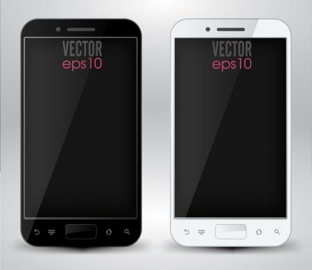 Smartphones Stock Vector - 20259348