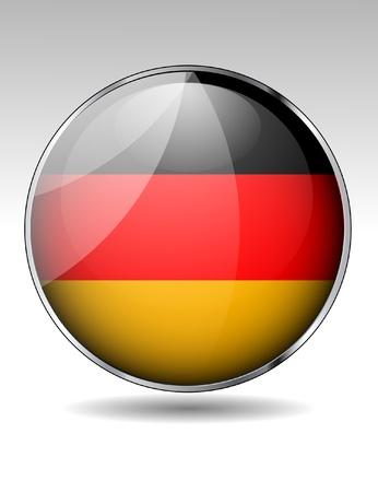 bandera alemania: Alemania bandera bot?n