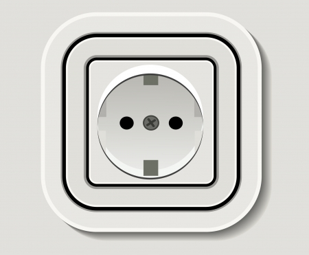 plug electric: Electrical outlet
