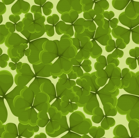 Seamless clover background Stock Vector - 20259293