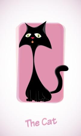 pussy: Cute cartoon cat