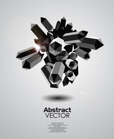 composition art: Geometrical abstrasct background