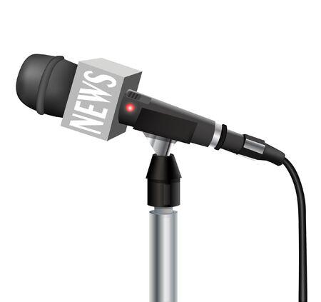 Microphone Stock Vector - 21059815