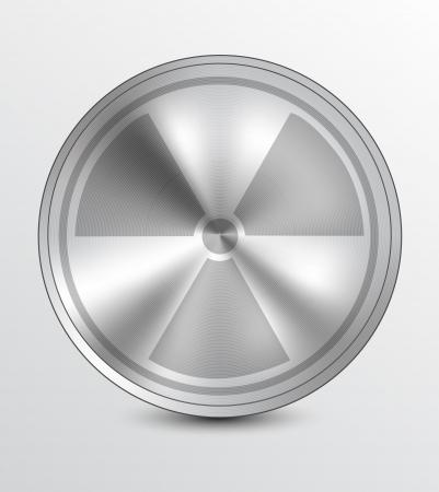 atom symbol: Nuclear icon