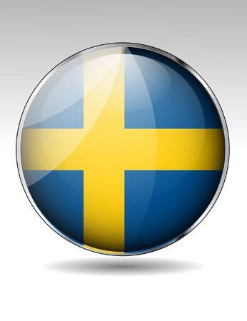 bandera de suecia: Suecia icono de la bandera