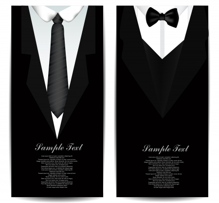 Tie Business cards