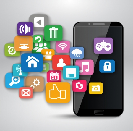 mobile internet: Applications for Smartphone