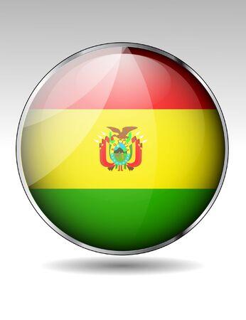 bandera de bolivia: Bolivia icono de la bandera