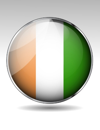 cote ivoire: Ivory Coast flag icon